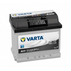 VARTA Black Dynamic 41Ah 360A normál jobb+ Akkumulátorok VARTA